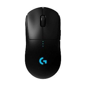 Mouse Gamer Logitech G Pro Wireless RGB 25600dpi sem fio