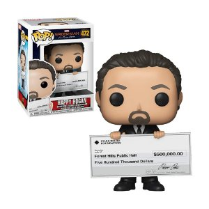 Boneco Happy Hogan 472 Spider-Man Far From Home - Funko Pop!