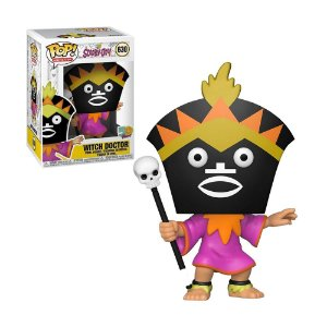 Boneco Witch Doctor 630 Scooby-Doo! - Funko Pop!