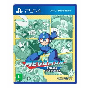 Jogo Mega Man Legacy Collection - PS4