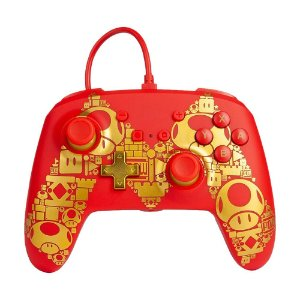Controle PowerA com fio (Super Mario Edition) - Switch