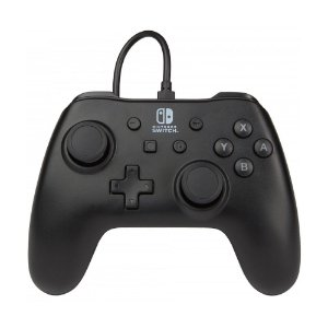 Controle PowerA com fio Preto - Switch