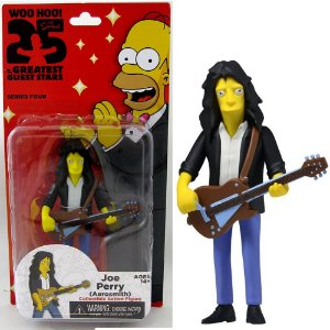 Action figure Joe Perry (Aerosmith) The Simpsons 25th Anniversary Series 4 - Neca