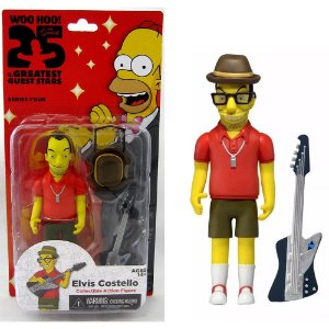 Action figure Elvis Costello The Simpsons 25th Anniversary Series 4 - Neca