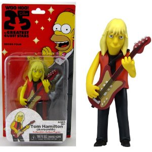 Action figure Tom Hamilton (Aerosmith) The Simpsons 25th Anniversary Series 4 - Neca