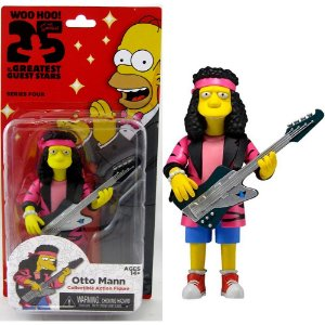 Action figure Otto Man The Simpsons 25th Anniversary Series 4 - Neca