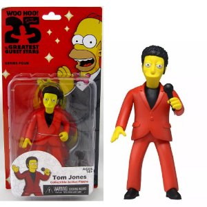Action figure Tom Jones The Simpsons 25th Anniversary Series 4 - Neca