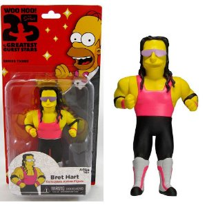 Action figure Bret Hart The Simpsons 25th Anniversary Series 3 - Neca