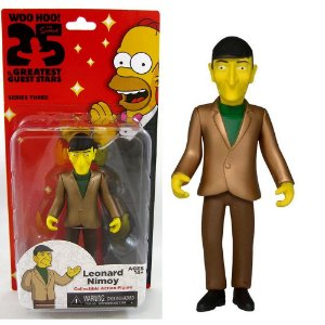 Action figure Leonard Nimoy The Simpsons 25th Anniversary Series 3 - Neca
