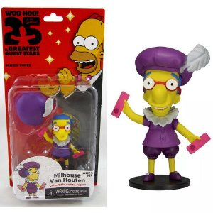 Action figure Milhouse Van Houten The Simpsons 25th Anniversary Series 3 - Neca