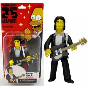 Action figure Peter Buck (R.E.M) The Simpsons 25th Anniversary Series 3 - Neca