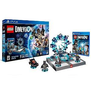 Jogo Lego Dimensions Starter Pack - PS4