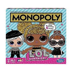 Jogo de Tabuleiro Hasbro Monopoly LOL Surprise