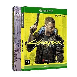 Jogo Cyberpunk 2077 (Steelbook Edition) - Xbox One