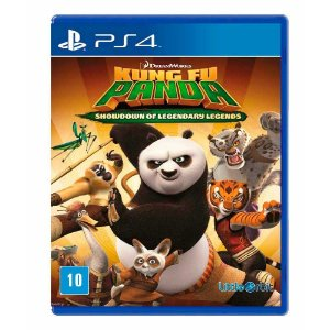 Jogo Kung Fu Panda: Showdown of Legendary Legend - PS4