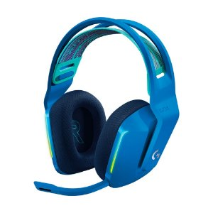Headset Gamer Logitech G733 7.1 Azul RGB sem fio - PC e PS4
