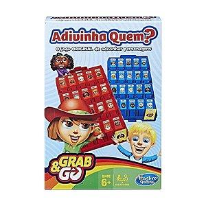 Jogo de Tabuleiro Hasbro Adivinha Quem? Grab & Go