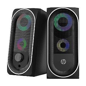 Caixa de Som HP DHE-6001 2.0 Illuminated 6W com fio