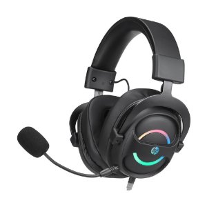 Headset Gamer HP DHE-8006 7.1 RGB com fio - PC