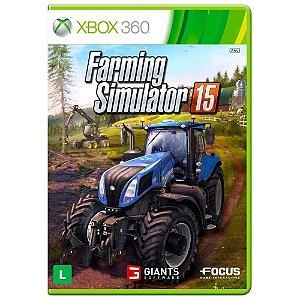 Jogo Farming Simulator 15 - Xbox 360