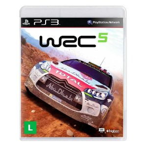 Jogo WRC 5: FIA World Rally Championship - PS3