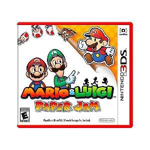 Jogo Mario & Luigi: Paper Jam - 3DS