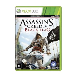 Jogo Assassin's Creed IV: Black Flag (Signature Edition) - Xbox 360