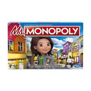 Jogo de Tabuleiro Hasbro Ms.Monopoly