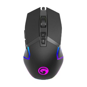 Mouse Gamer Marvo Scorpion G941 RGB 6200 DPI com fio