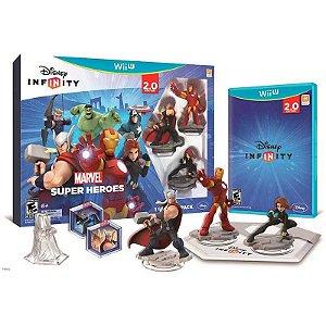 Jogo Disney Infinity 2.0: Marvel Super Heroes - Wii U