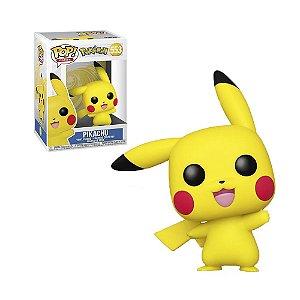 Boneco Pikachu 553 Pokémon - Funko Pop!
