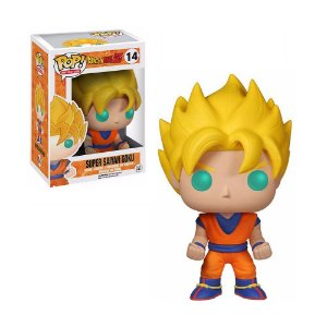 Boneco Super Saiyan Goku 14 Dragon Ball Z - Funko Pop!