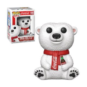 Boneco Coca-Cola Polar Bear 58 Coca-Cola - Funko Pop!
