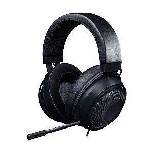 Headset Gamer Razer Kraken 7.1 Black com fio - Multiplataforma