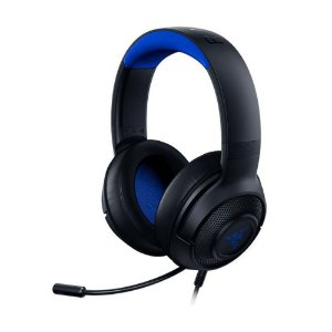 Headset Gamer Razer Kraken X for Console 7.1 Blue com fio - Multiplataforma