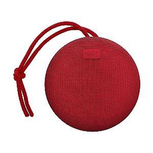 Caixa de Som Geonav AerBox Vermelha Bluetooth