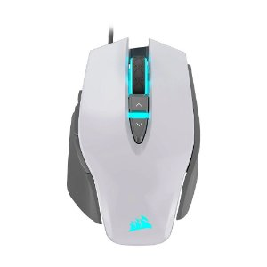Mouse Gamer Corsair M65 RGB Elite White 18000 DPI com fio