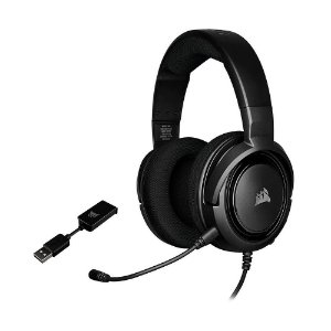 Headset Gamer Corsair HS45 7.1 com fio - Multiplataforma