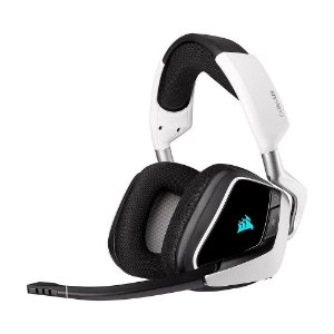Headset Gamer Corsair Void RGB Elite Wireless White sem fio - PC e PS4