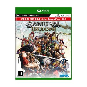 Jogo Samurai Shodown Enhanced (Special Edition) - Xbox