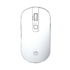Mouse HP S4000 1600 DPI Branco sem fio