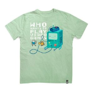 Camiseta Studio Geek BMO 8 Bits Adventure Time - Modelo 2