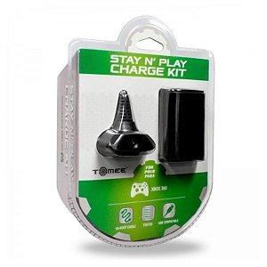 Bateria e Carregador Tomee para Controle Xbox 360 Battery Pack