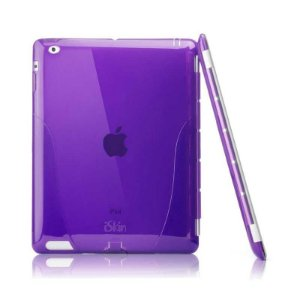 Case de Transporte Iskin Solo Smart Roxo - iPad 3 e 2