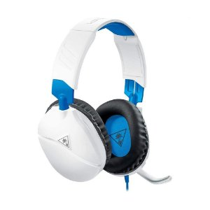 Headset Gamer Turtle Beach Recon 70 Branco com fio - Multiplataforma