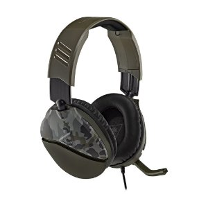 Headset Gamer Turtle Beach Recon 70 Verde Camuflado com fio - Multiplataforma