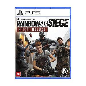 Jogo Tom Clancy's Rainbow Six Siege (Edição Deluxe) - PS5