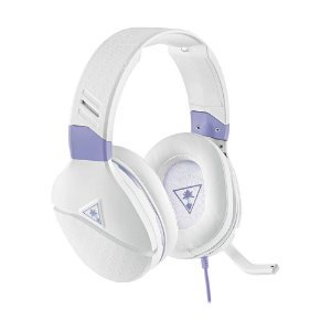 Headset Gamer Turtle Beach Recon Spark Branco com fio - Multiplataforma