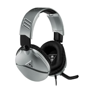 Headset Gamer Turtle Beach Recon 70 Prata com fio - Multiplataforma