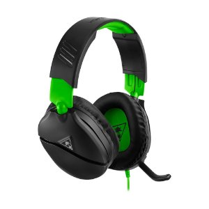 Headset Gamer Turtle Beach Recon 70X Preto com fio - Multiplataforma